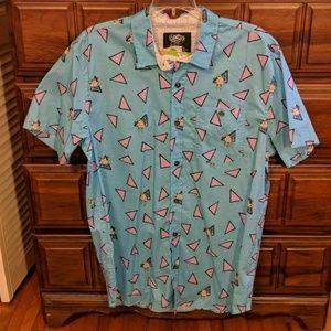 Rocko's Modern Life Button Up Shirt